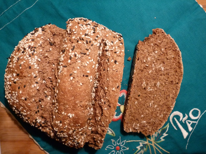 Pão de alfarroba