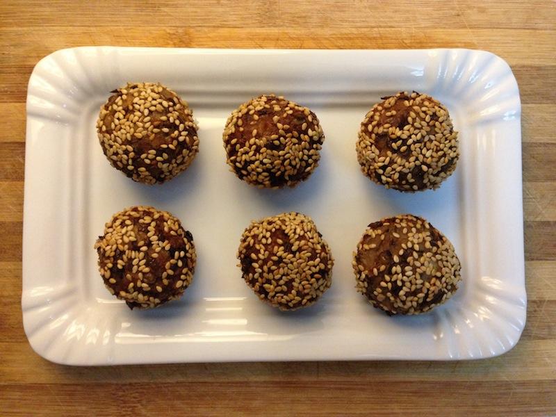 Croquetes de lentilhas – Vegan