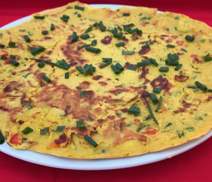 Omelete sem ovos (grão)